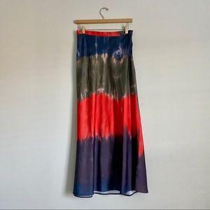 Free People Skirt | Tie-Dye Maxi Skirt